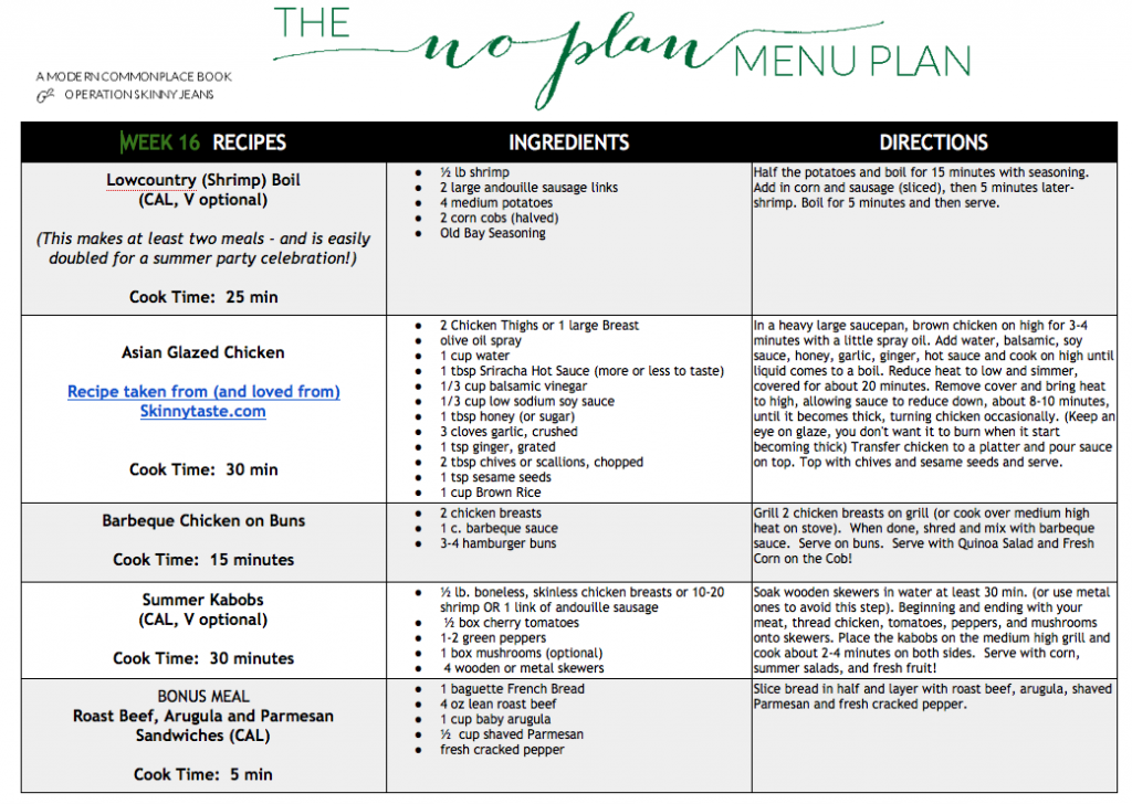 Our Meal Plans. Created for people who love food. Designed to fit your lifestyle. You can always mix and match recipes across the full menu, regardless of your meal plan. Meal Plans - Classic Menu. Get 3 delicious recipes per week for 2 or 4 people, $ per serving.