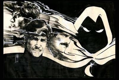 Dibujo del Caballero Luna-Alias por Bill Sienkiewicz