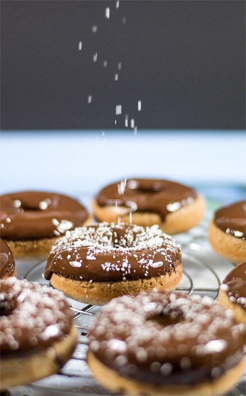 Vegan cocos donuts cocos rain