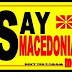 "Macedonians say ""NO"" to EU and NATO admission under a different name!"