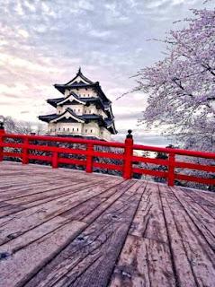 Hirosaki Castle, Japan (Best Honeymoon Destinations In Asia) 1