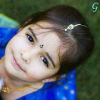 Babies Pictures With Smile & Blue Dress Baby Photos