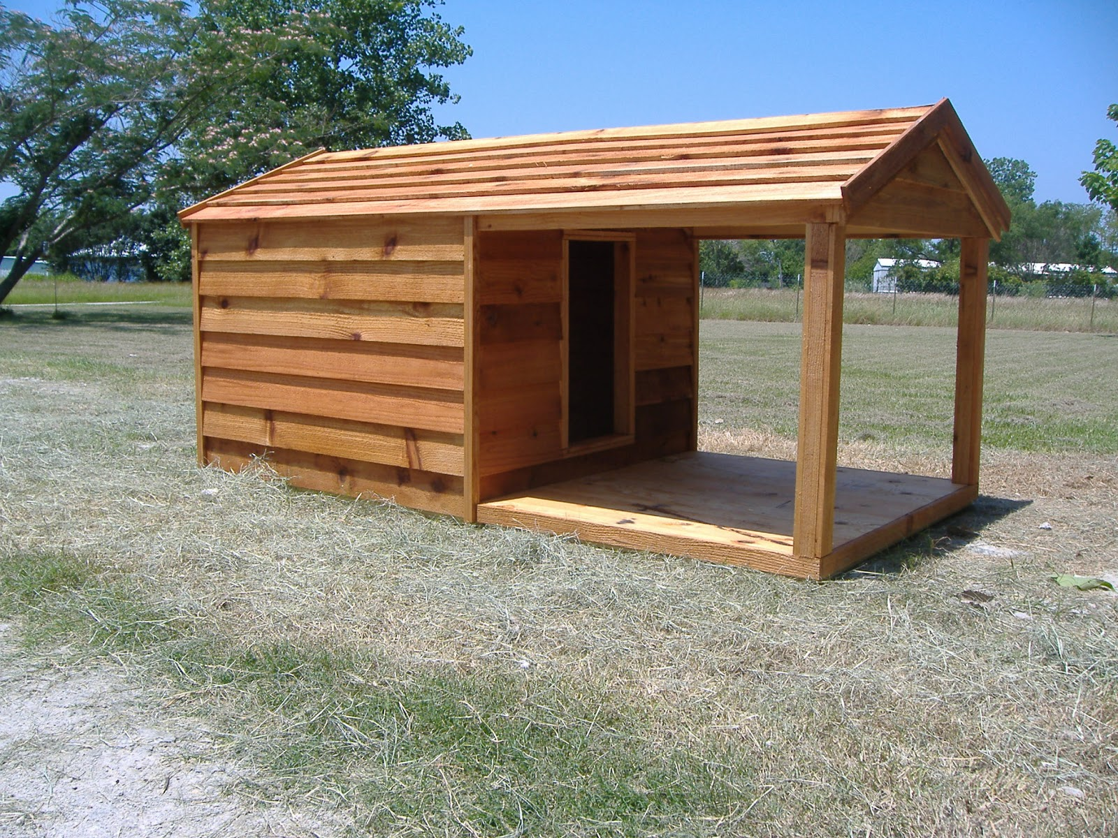 Large Custom Built Dog Houses