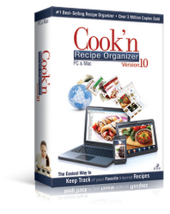Cook'n Version 10 Recipe Organizer