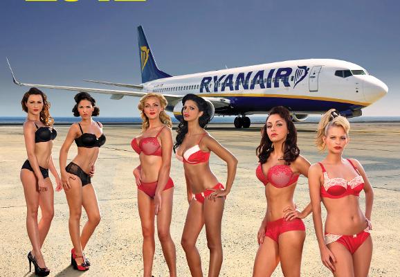 Naked Charity: Ryanair Cabin Crew
