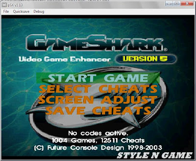 GameShark PS1 Terbaru V5