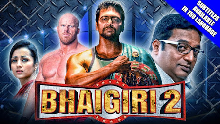 Poster Of Bhaigiri 2 In Hindi Dubbed 300MB Compressed Small Size Pc Movie Free Download Only At songspk.link