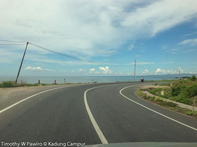 Indonesia - Sulawesi Selatan - Perjalanan balik dari Tanjung Bira menuju Makassar