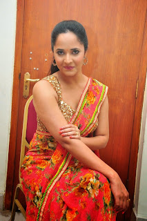 Anasuya Latest Pictures in Saree at Vinavayya Ramayya Audio Release Function ~ Bollywood and South Indian Cinema Actress Exclusive Picture Galleries