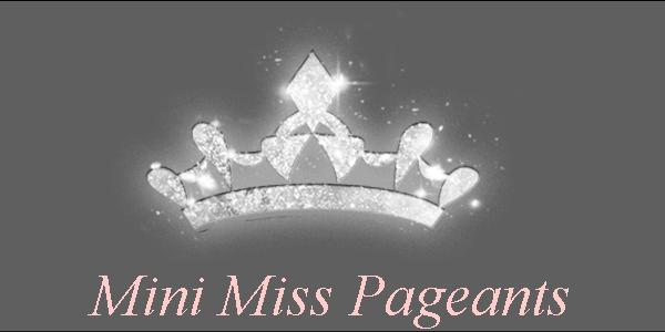 Mini Miss Pageants