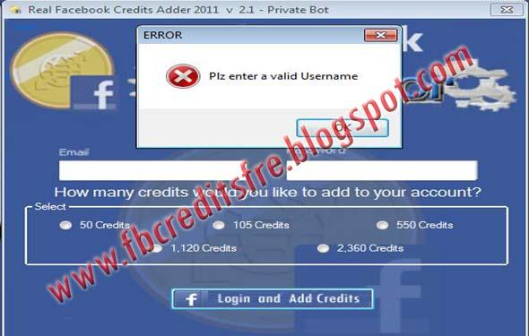 descargar facebook credits generator
