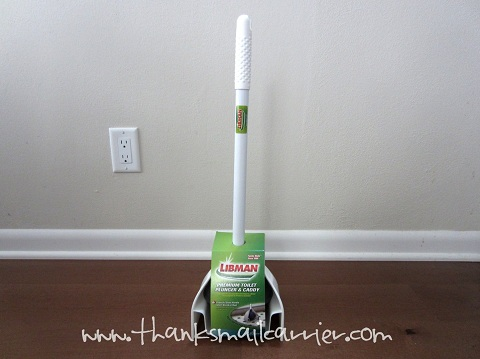 Libman Toilet Plunger with Caddy review