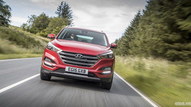Xe Hyundai Tucson 2016 gây bão thị trường châu Âu