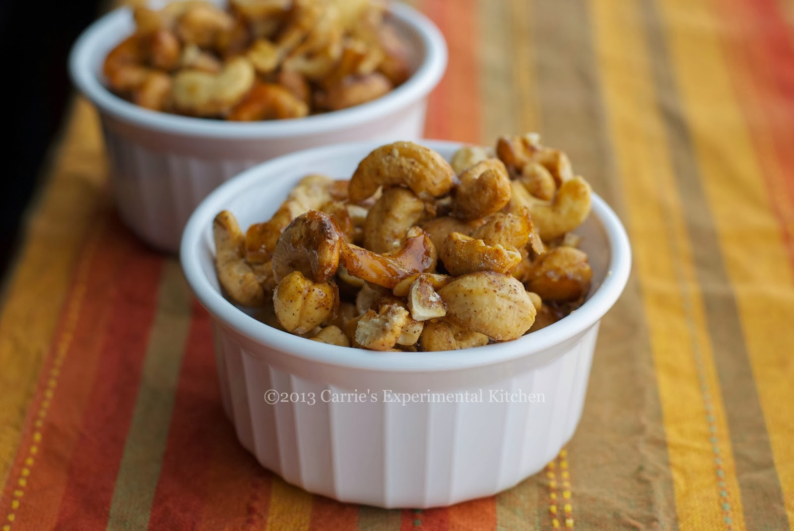 Honeyed Cashews With Kosher Salt Recipe — Dishmaps