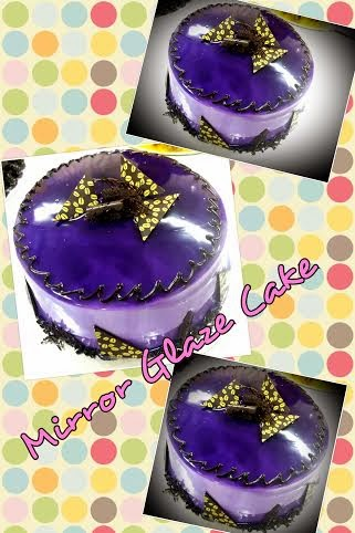 New Modul - Mirror Glaze Cake RM250 perhead
