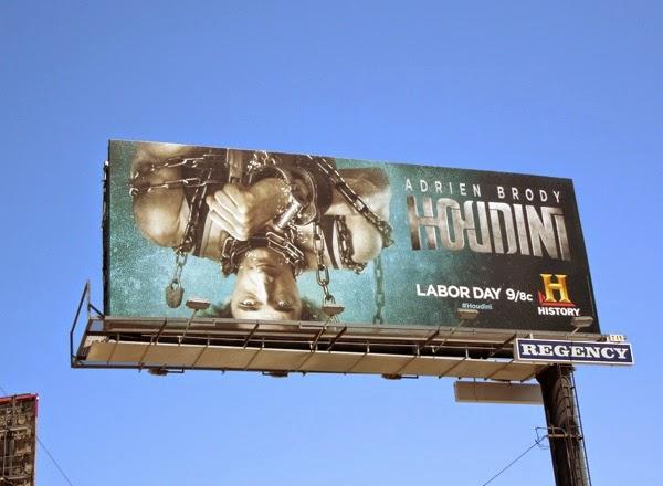 Adrien Brody Houdini billboard