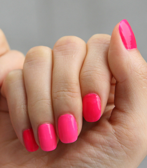 Neon Nails Summer Nail Pedicure Arts Color Recommendation Cool