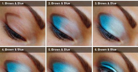 Apply Blue Eye Shadow Tutorial Smokey Eyes ~ Entertainment News ...