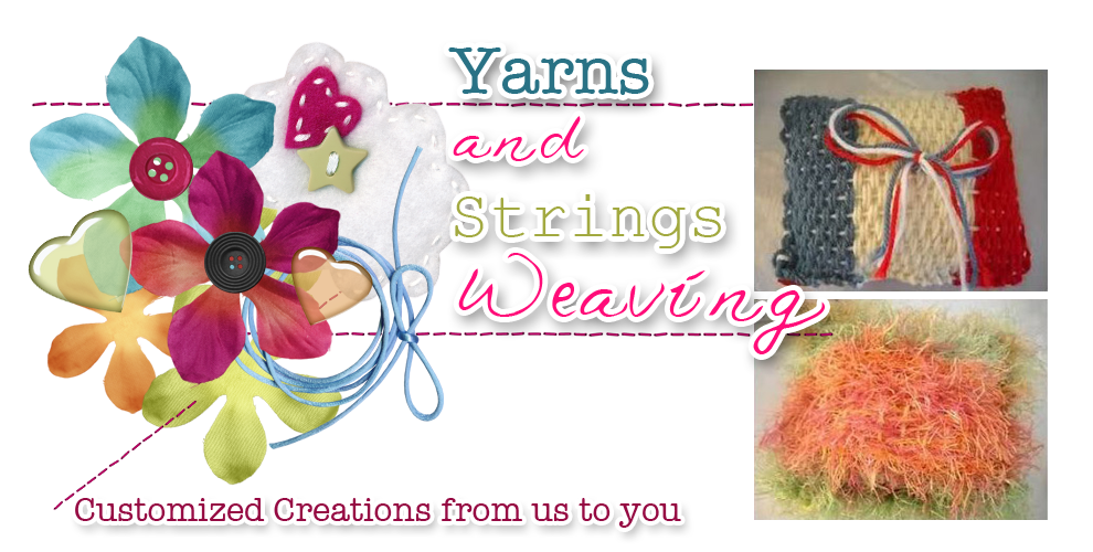 Yarns and Strings Weaving