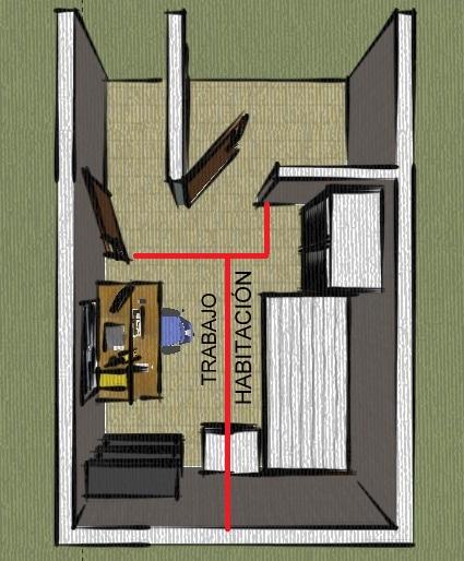 Efecto a arquitectos tips de dise o c mo amueblar - Diseno de habitaciones pequenas ...
