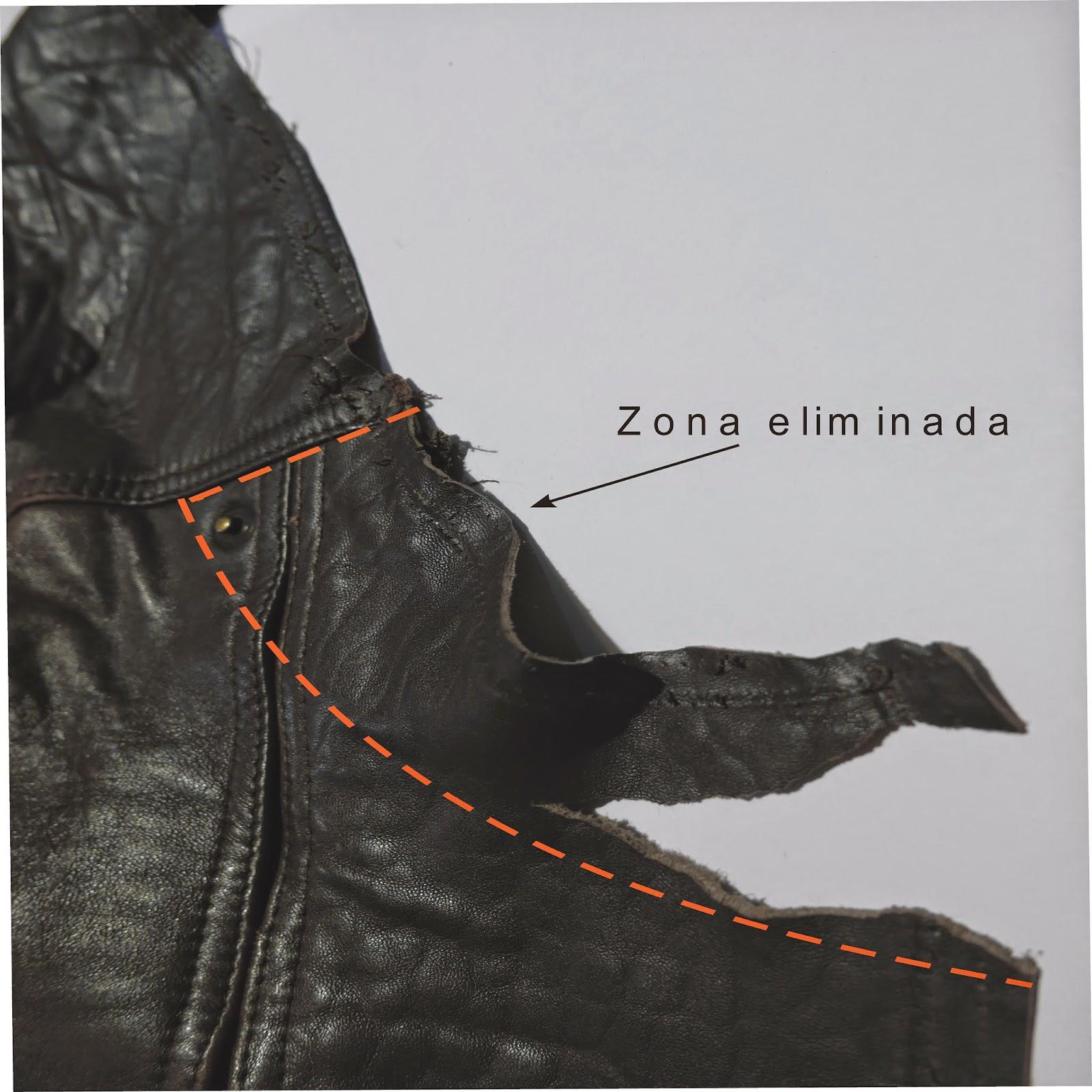 Consejos para reciclar una chaqueta de cuero ~ Moda en la Costura