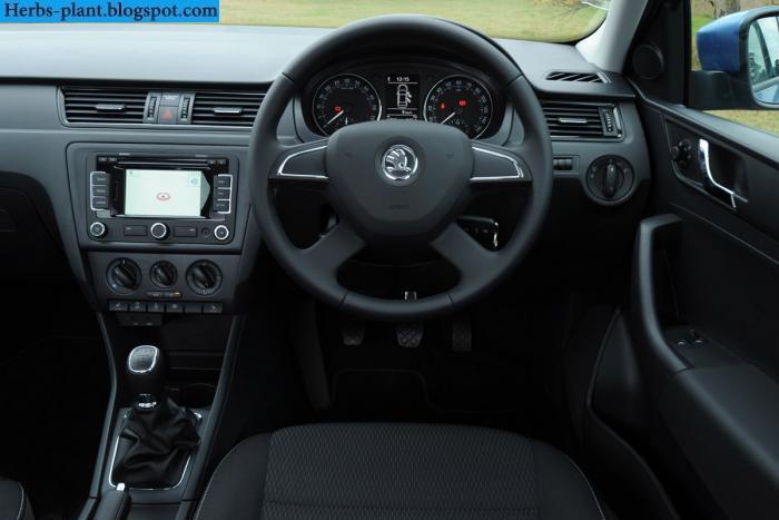 Skoda rapid car 2013 dashboard - صور تابلوه سيارة سكودا رابيد 2013