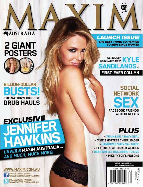 Jennifer Hawkins – Maxim Australia Magazine 2011
