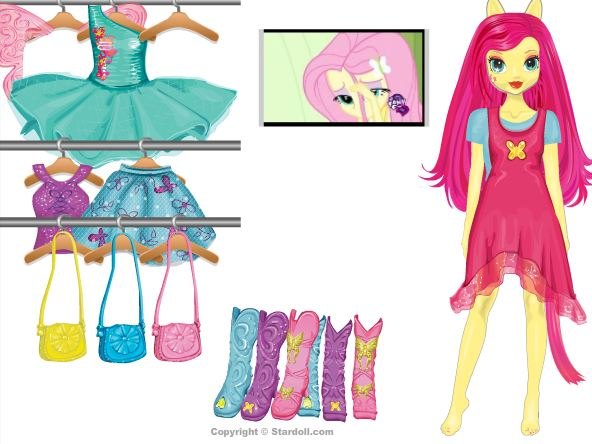 i style dress up equestria