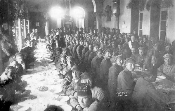 Jewish Pictorial History: The Lost Battalion of WWI - Israel ...