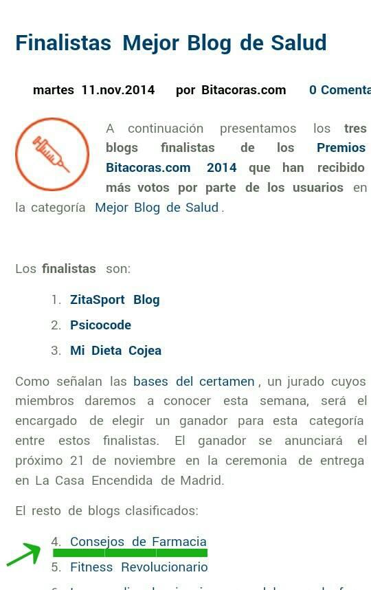 X Premios Bitácoras... ¡¡GRACIAS!! ❤