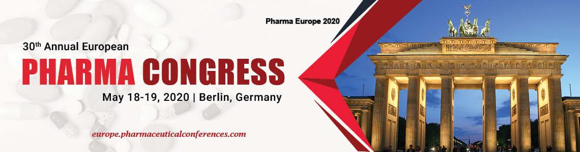 30<sup>th</sup> Annual European Pharma Congress