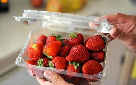 Khay nhựa đựng trái cây rau củ 01