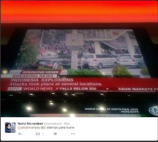 Sebar hoax soal bom Sarinah, TV One dibully netizen