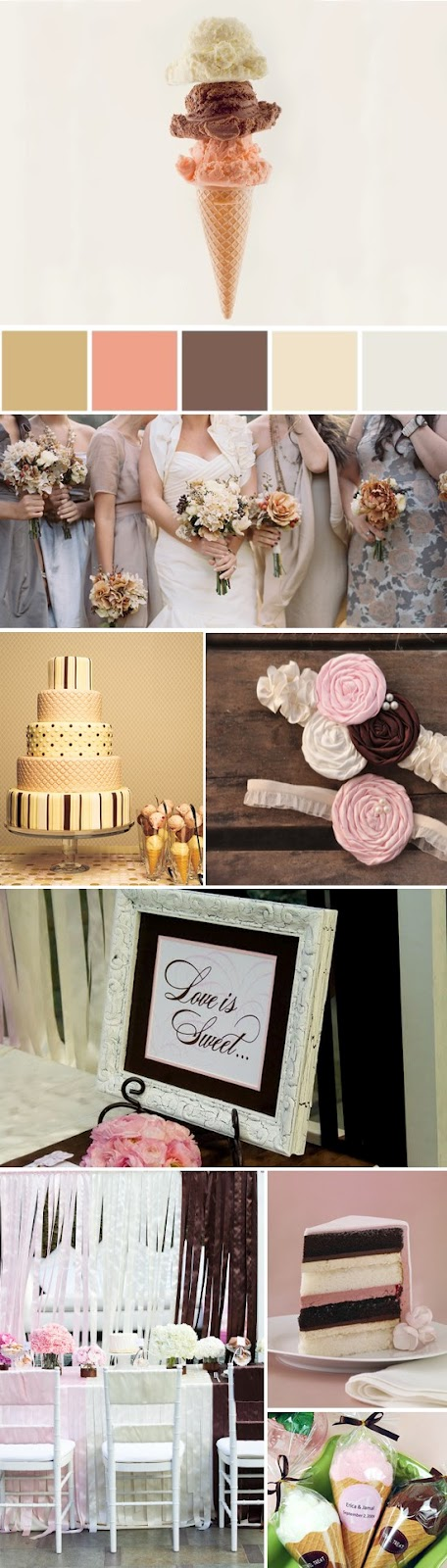 Sugary sweet wedding color inspiration