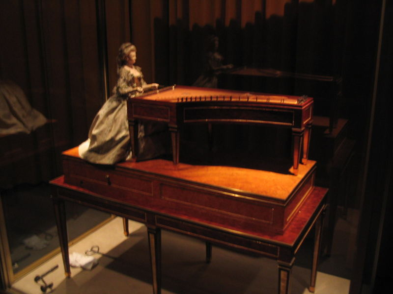roentgen luxury furniture marie antoinette music box dulcimer