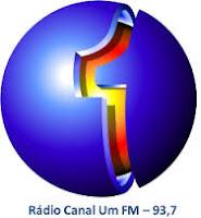 ouvir a Rádio Canal Um FM 93,7 Taquaritinga SP