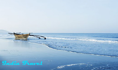 India Travel-beautiful Baga Beach