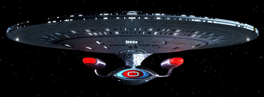 USS Enterprise-D Real-Time Star Trek TNG Series