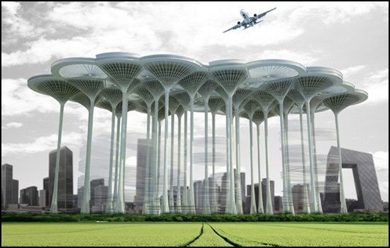 Airport Skyscraper