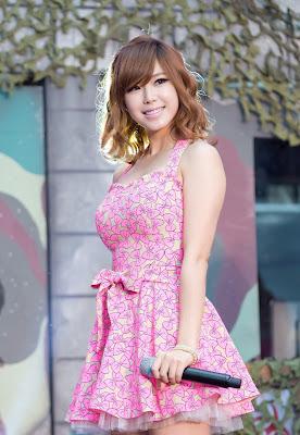 Hyosung SECRET Cute Pink Dress