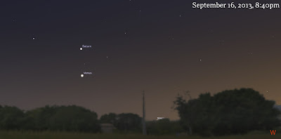 venus saturn september 16