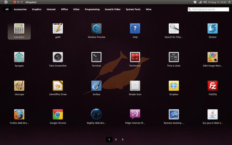 Slingshot Launcher di Ubuntu 11.04 Natty Narwhal