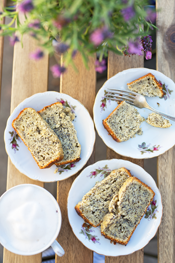 lemon poppyseed bread with greek yogurt