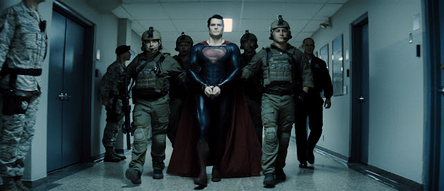 Man of Steel Superman in custody