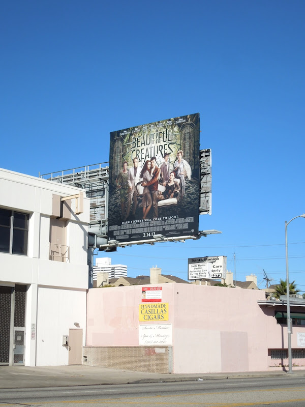 Beautiful Creatures film billboard