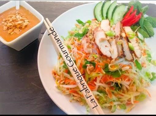 La fabrique gourmande salade de poulet la vietnamienne for Salade pour accompagner poisson