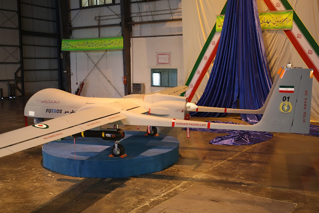 Iran's Fotros Drone