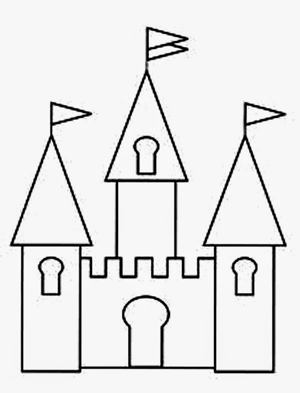 Disney Castle Coloring Pages - Disney Coloring Pages