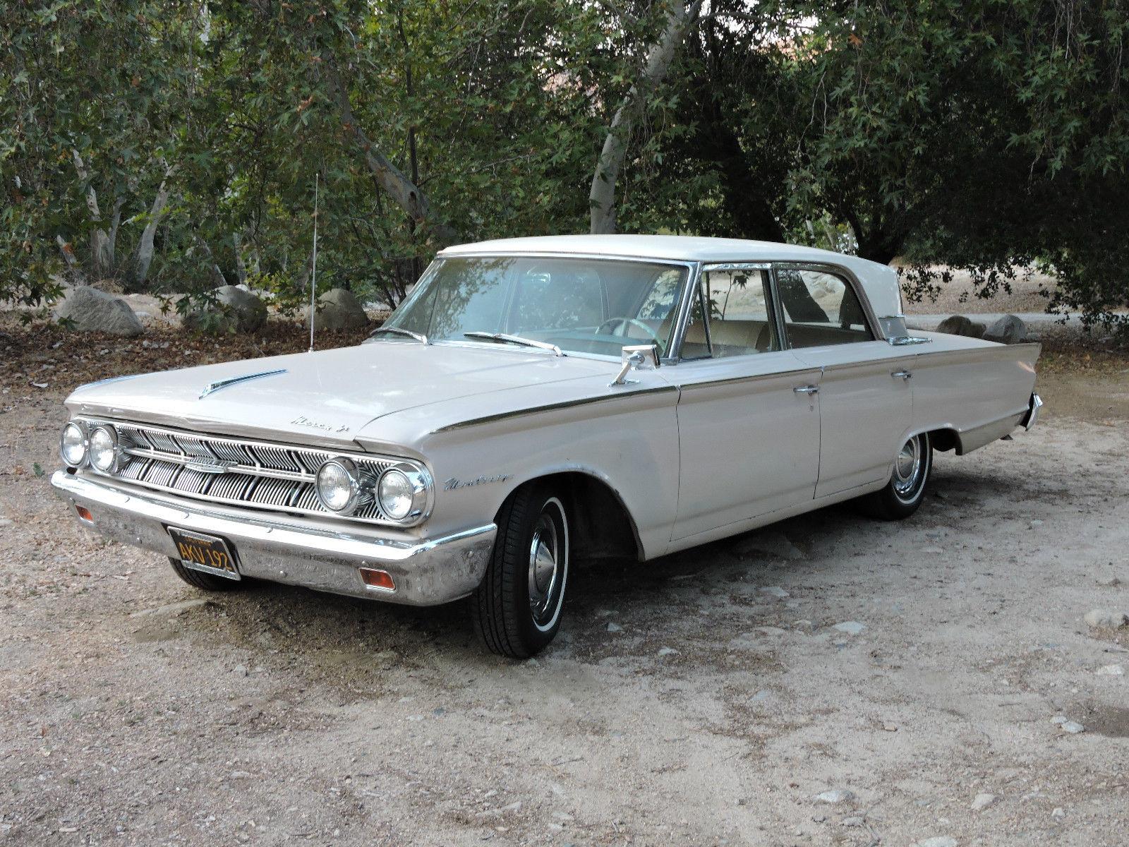 1963 Mercury Monterey Custom 4 Door Sedan. U201c