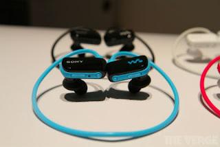 Sony Walkman Waterproof Tahan Air